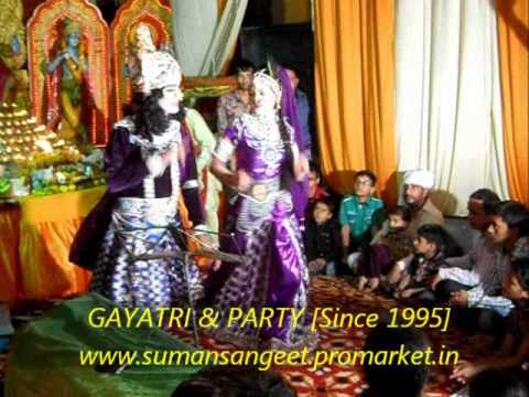 Jhanki Shree Radhey Krishan In Sai-sandhya By.gayatri & Party [since 1995] video