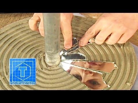 Stehlampe Aus Betonfuß Selber Bauen | ToolTown Heimwerken