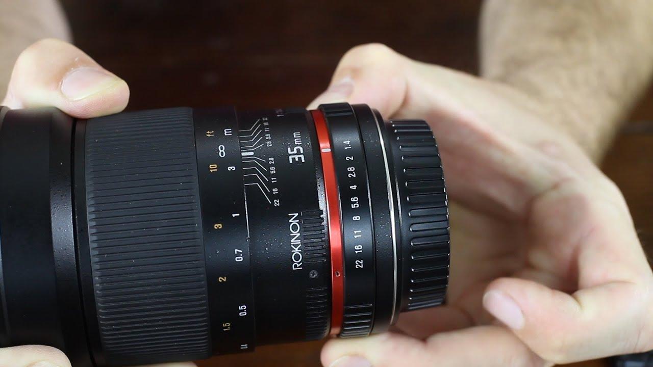 Lens 35mm F1.4 Rokinon 35mm F1.4 Review V.s