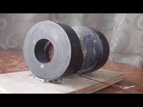 free energy light bulb device with magnet  how to make free energy magnet generator homemade 2018 thumbnail