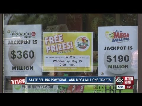 Lottery Fever Hits Florida With Two Big Jackpots For Mega-millions And Powerball video