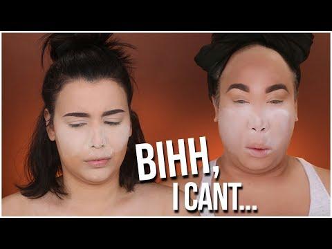 I TRIED FOLLOWING A PATRICKSTARRR MAKEUP TUTORIAL! | MakeupByAmarie