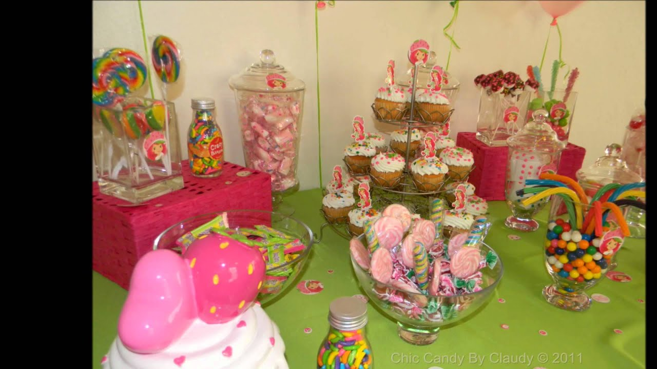 Candy Buffet Puerto Rico Strawberry Shortcake YouTube