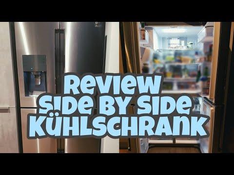 Side By Side Kühlschrank Umbaut : Küche mit side by side kühlschrank hausgartenleben ch bauen