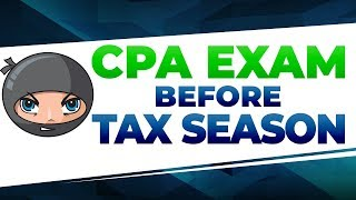 Pass FAR and BEC Before Tax Season | CPA Exam NINJAs