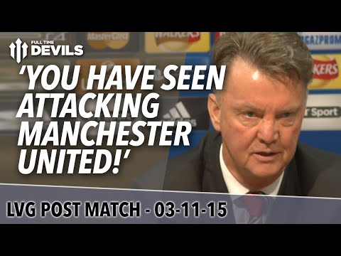 Manchester United 1-0 CSKA Moscow | Louis Van Gaal Post Match Presser