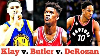 The Great Debate Between Klay Thompson, Jimmy Butler, and DeMar DeRozan