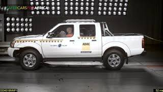 Nissan NP300 Global NCAP Results (0-star rating) #SaferCarsForAfrica