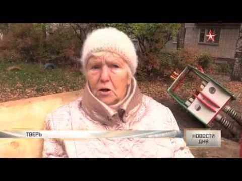 Агрессивную пенсионерку, которая снесла детскую площадку, ищет полиция