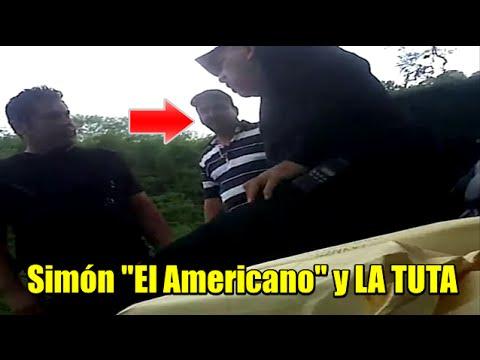 """""""El Americano"""" actual mando de la Fuerza Rural, con """"La Tuta"""""""