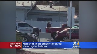 Auburn Police Shoot, Injure Man Outside Gas Station