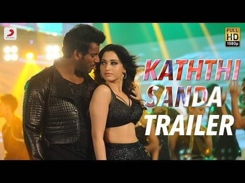 Kaththi Sandai - Official Tamil Trailer   Vishal, Vadivelu, Tamannaah