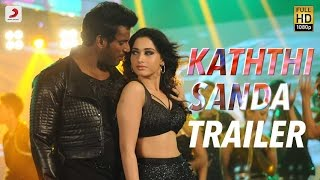 Download Kaththi Sandai - Official Tamil Trailer | Vishal, Vadivelu, Tamannaah | Hiphop Tamizha 3Gp Mp4