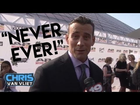 "CM Punk - I'm ""never ever"" going back to WWE"