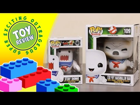 Stay Domo Stay Puft Marshmallow Man Ghostbusters Funko Pop Vinyl - Toy Review