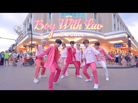 [KPOP IN PUBLIC] '작은 것들을 위한 시' Boy With Luv - BTS Ft. Halsey Dance Cover | The A-code From Vietnam