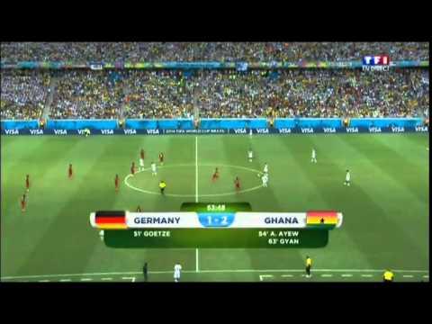 Allemagne - Ghana 2014 résumé