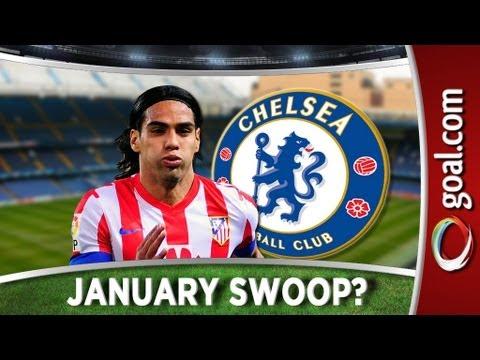 Chelsea line up Falcao bid - Blues keen to pep up forward line