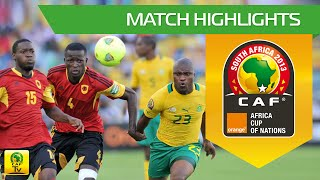 CAN Orange 2013 | Afrique du Sud 2-0 Angola