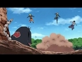 Naruto Gaara Kakashi Sasuke And Sakura Go On Their First Mission Together  Hd Quality Hd