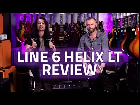Line 6 Helix LT Review. Technical Guide and Demo