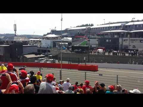 Départ formula one grand prix 2015 - Start belgium grand prix 2015