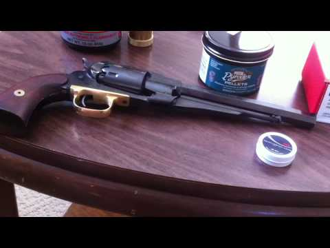 Pietta reproduction of 1858 Remington New Army