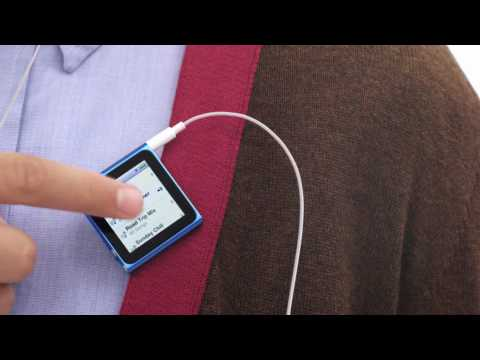 Comerciales para iPod Touch G4 y iPod Nano G6