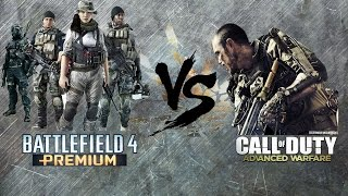 Call of Duty Advanced Warfare vs Battlefield 4 - Graphics Comparision