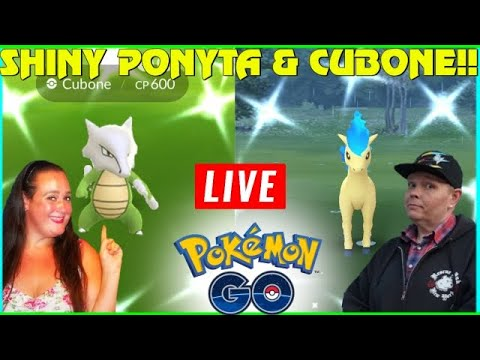 🔴 LiVE 🔴🦄 SHiNY Ponyta & SHiNY Cubone ( in the wild now ) + Huge Update! Pokemon Go! in NYC