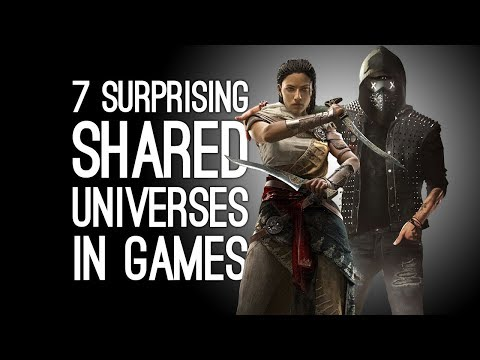 7 Surprising Shared Universes in Our Favourite Games