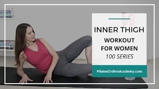 Inner Thigh Workout for Women | 100 series | 3-minute workout