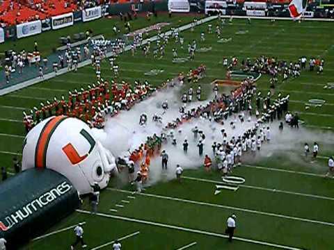Miami Hurricanes Stadium of The Miami Hurricanes