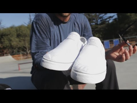 100 Skateboard Tricks In The Nike SB Janoski Slip-Ons