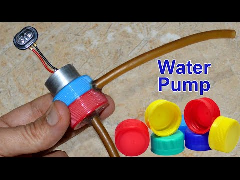 How to make water pump at home - Simple