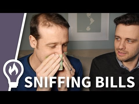 Does Canadian money really smell like maple syrup? With Matt Parker