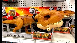 Jurassic World Fallen Kingdom Toy Hunt - NEW Dinosaur Toys - What Dinosaur is This? Dino Rivals