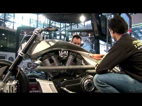 Victory Core Concept Motorcycle & Interview with Victory Director at NYC Motorcycle Show