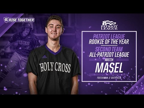 Austin Masel Patriot League Rookie Of Year