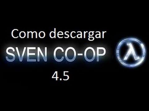 como descargar el sven coop 4.5