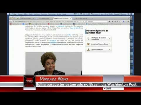 Bolha parece ter estourado no Brasil, diz Washington Post
