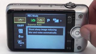 Sony 2011 W Series Cybershot Walkthrough/Tutorial & First Look