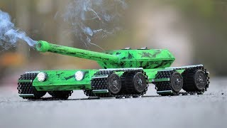 How To Make Amazing Tank That Shoots