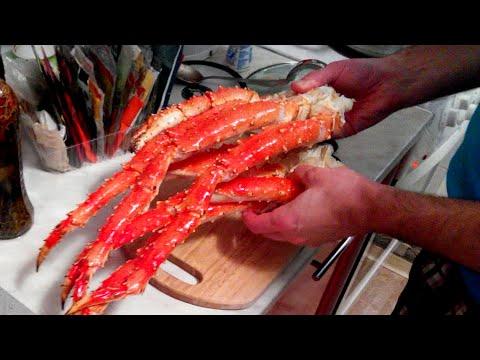Как готовить краба - видео