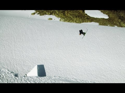 Helicopters, Skis, and Half-Naked Girls - Red Bull Playgrounds 2012