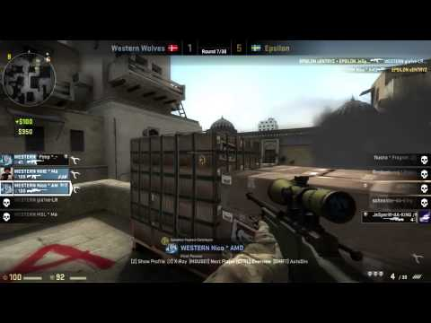 Western Wolves vs Epsilon  - RAW Match Highlight - DreamHack Summer 2013 CS:GO