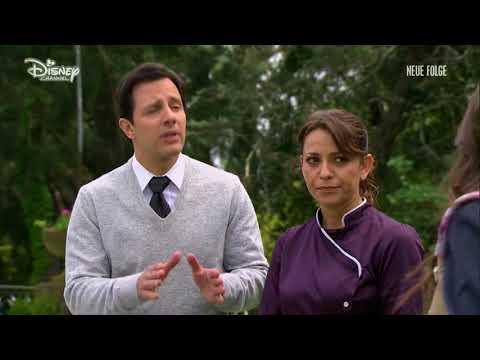 Soy Luna 2 - Luna, Miguel und Monica im Garten (Folge 48)