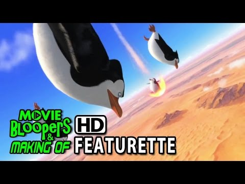 Penguins Of Madagascar (2014) Featurette - Showing Off