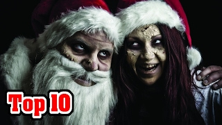 Top 10 CHRISTMAS MONSTERS and SCARY LEGENDS