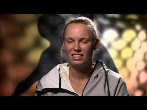 Caroline Wozniacki interview (1R) - Australian Open 2015